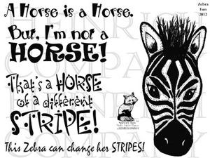 TT Ch 51 Zebra Fun