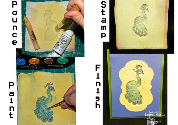 MFP #74 Sculpting with Stamps, TT or PT 2b