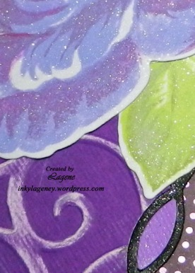 (2018 c54) Purple Rose, Jewel Tones zoom