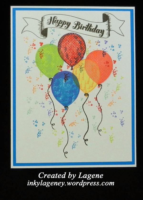 (2018 c62) Happy Birthday Balloons