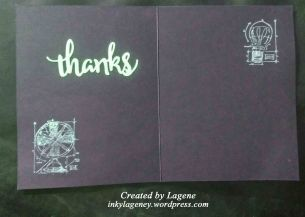 (2019 c41) Thanks, Tim Holtz, Frantic Stamper, Pink & Main i