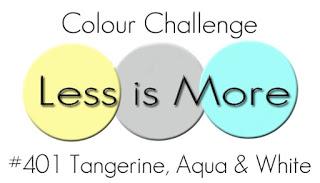 August 401 Colour Tangerind Aqua White